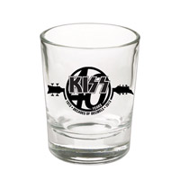 New - KISS 40th Anniversary Shot Glass