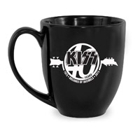New - KISS 40th Anniversary Coffee Mug
