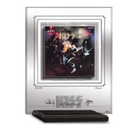 Pre Order - KISS ALIVE! ARCHIVAL ETCHED GLASS - MANTELPIECE