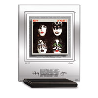 KISS DYNASTY ARCHIVAL ETCHED GLASS - MANTELPIECE