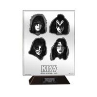 Pre Order - KISS SOLO ALBUMS ARCHIVAL ETCHED GLASS  ACRYLIC/GLASS