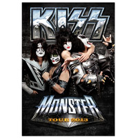New - 2013 KISS Mosnter UK/European Tour Program