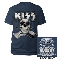 KISS Mosnter 2013 North American Tour Tee