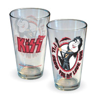 KISS Meets Family Guy Quagmire Pint Glass