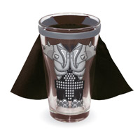 KISS Demon Caped Pint Glass