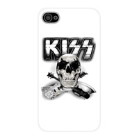 iPhone 4/4S Skull 'N' Guitars Snap On Case