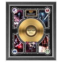 New - KISS Alive! Collectible Framed Gold LP