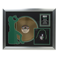 New - Solo Catman Collectible Framed Gold LP