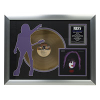 Solo Starchild Collectible Framed Gold LP