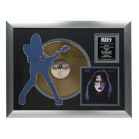 Solo Spaceman Collectible Framed Gold LP