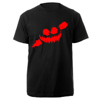 Haunted Smile Black T-shirt