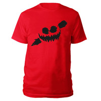 Haunted Smile Red T-shirt