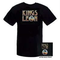Kings of Leon Logo/Palm Tree T-shirt
