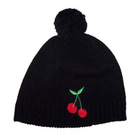 Kings of Leon Black Bobble Hat