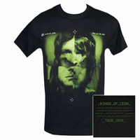 Kings of Leon Album/Itin 09 Blk T