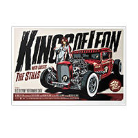 Collectible - Kings Of Leon '09 Sydney Aus. 1st Show Event Poster