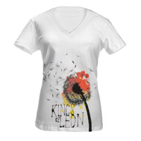 Kings Of Leon Dandelion Girl Jr. Tee