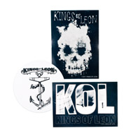 Kings Of Leon Sticker Pack