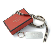 Love Never Dies Silver Ticket Keyring