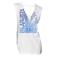 Juniors V Cut Out Muscle Tee