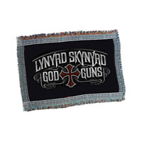 God & Guns Throw Blanket