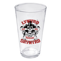 Lynyrd Skynyd God &amp; Guns Pint Glass