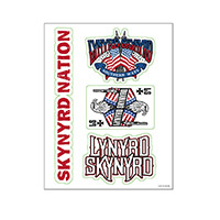 Lynyrd Skynyrd Sticker Sheet