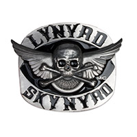 Skynyrd Skull &amp; Cross Bone Buckle