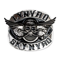 Skynyrd Skull &amp; Cross Bone Trailer Hitch Cover