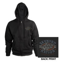 New - Lynyrd Skynyrd Zip-Up Hoodie