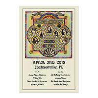 2015 Lynyrd Skynyrd Event Poster