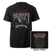 Skynyrd Band Photo Itinerary Tee