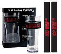Freebird Slap Band Glass Set