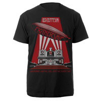 LED ZEPPELIN MOTHERSHIP BLACK T-SHIRT