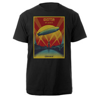 Led Zeppelin Celebration Day Black T-Shirt