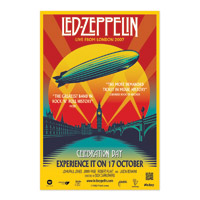 Led Zeppelin Celebration Day Film Poster
