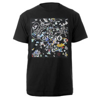 Led Zeppelin III Companion Album Black T-Shirt