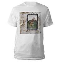 Led Zeppelin IV Album White T-Shirt