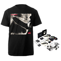 Led Zeppelin Super Deluxe Edition Box Set + Companion Album Black T-Shirt