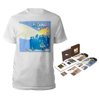 Led Zeppelin II Super Deluxe Edition Box Set + Companion Album White T-Shirt