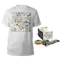 Led Zeppelin III Deluxe Edition CD + Album White T-Shirt