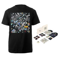 Led Zeppelin III Super Deluxe Edition Box Set + Companion Album Black T-Shirt