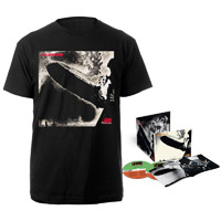 Led Zeppelin Deluxe Edition CD + Companion Album Black T-Shirt