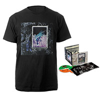 Led Zeppelin IV Deluxe Edition CD + Companion Album Black T-Shirt