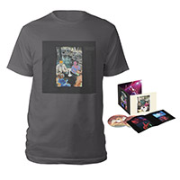 Led Zeppelin Presence Deluxe Edition CD + Companion Album Charcoal Grey T-Shirt