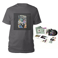 Led Zeppelin Presence Super Deluxe Edition Box Set + Companion Album Charcoal Grey T-Shirt