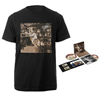 Led Zeppelin In Through The Out Door Deluxe Edition CD + Album Black T-Shirt