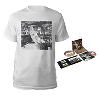 Led Zeppelin In Through The Out Door Deluxe Edition CD + Companion Album White T-Shirt