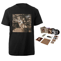 Led Zeppelin In Through The Out Door Super Deluxe Edition Box Set + Album Black T-Shirt
