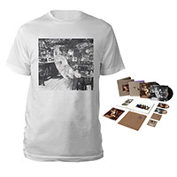 Led Zeppelin In Through The Out Door Super Deluxe Edition Box Set + Companion Album White T-Shirt